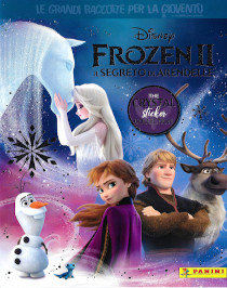 Frozen 2 The Crystal Sticker Collection