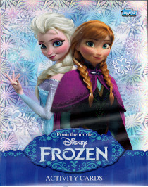 Frozen Activity Cards Topps 2014