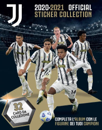 Juventus 2020 2021 Official Sticker Collection
