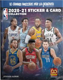 NBA 2020 2021 Sticker and Card Collection