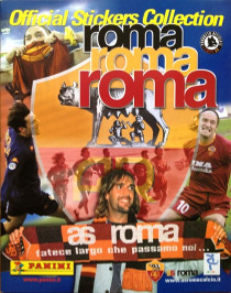 Roma Roma Roma Official Stickers Collection 2001 Panini