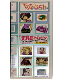 Witch Trendy Style Sticker Book Panini