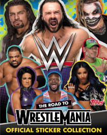WWE The Road to Wrestle Mania Topps